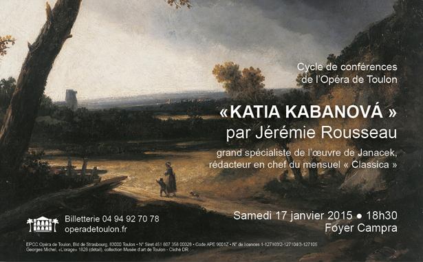 Conf+®rence Katia Kabanova