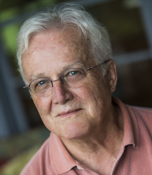 Author Russell Banks, August 2013. photo by Nancie Battaglia