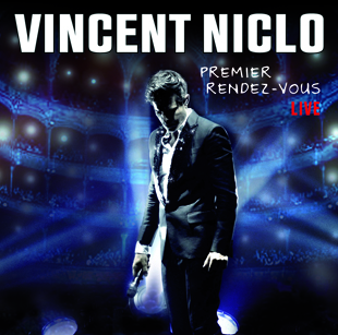 Vincent Niclo - Pochette CD DVD Live au Chatelet