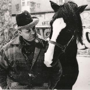 Romanès et son cheval Ketoo