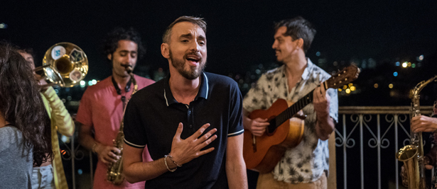 Tournage Rio - Christophe Willem