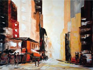 Francis Renson - Balade à New-York