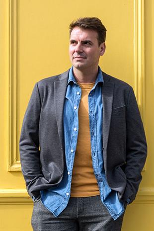 Portrait d'Olivier Dorchamps, Paris, 20 mars 2019