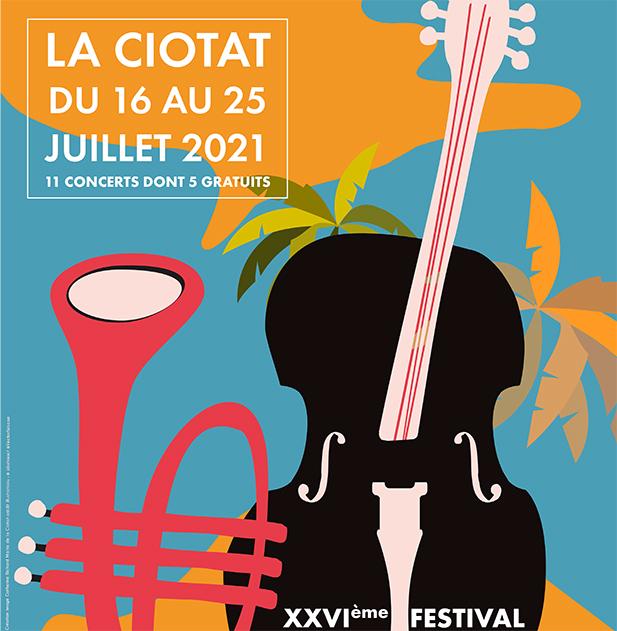 Affiche Musique en Vacances 2021